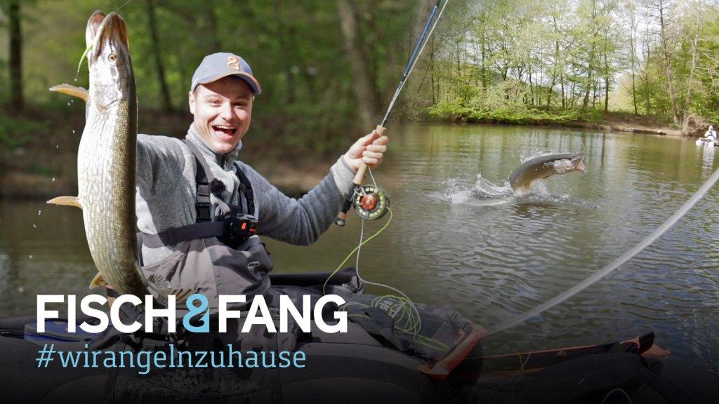 #WirAngelnZuHause: Waldsee-Hechte