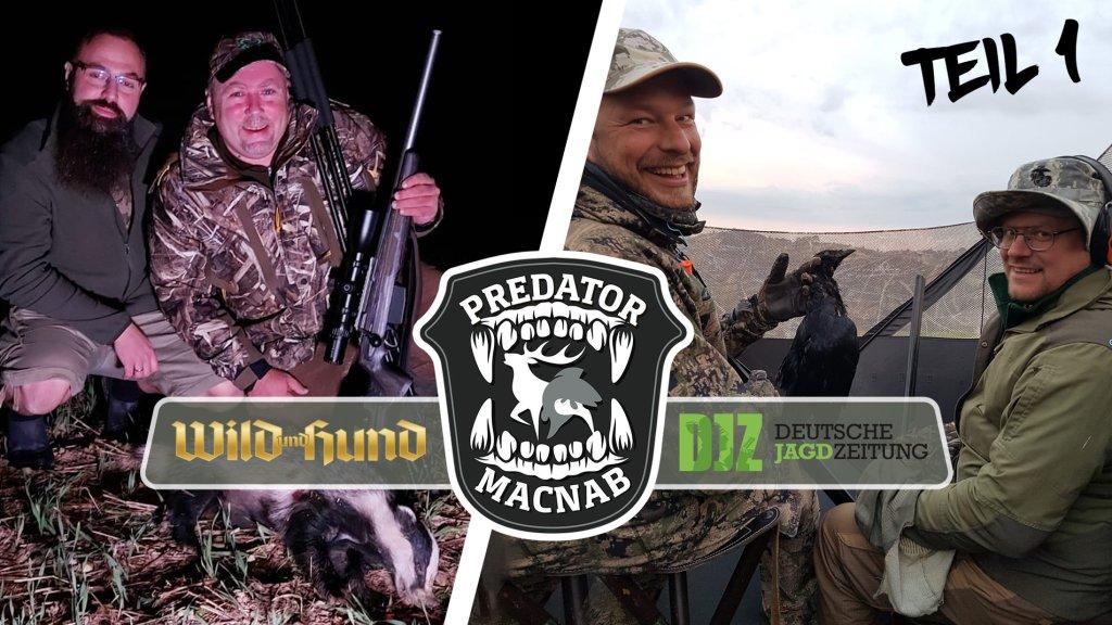 Predator Macnab Teil 1 - Zwei Redaktionen, ein Tag, eine Aufgabe