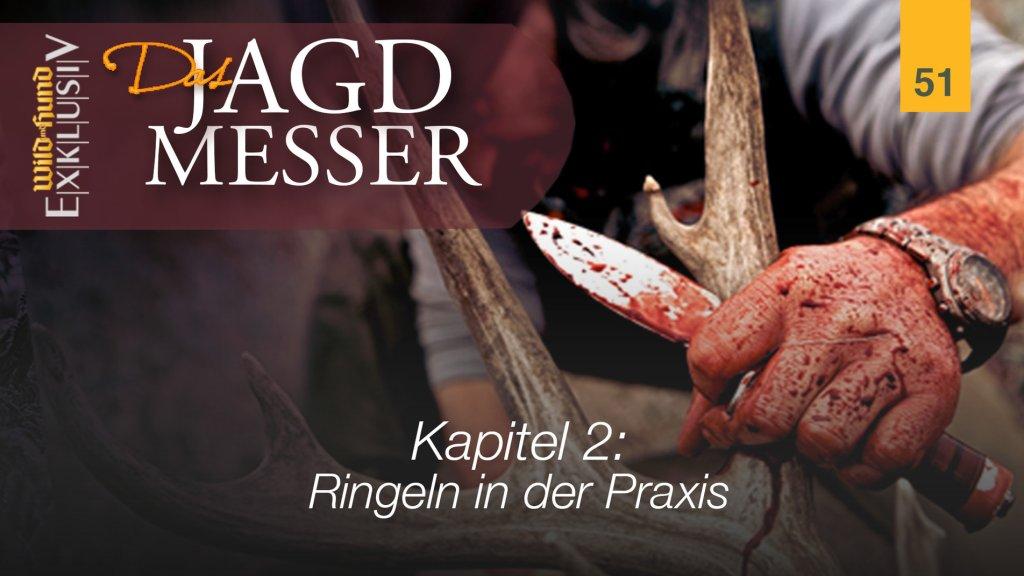 Das Jagdmesser - Kapitel 2 Ringeln in der Praxis | WILD UND HUND-Exklusiv 51